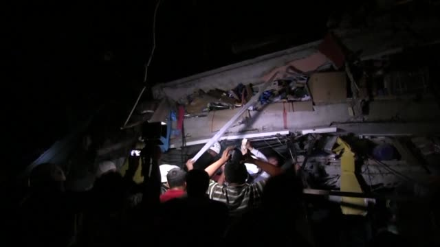 At least 77 people have been killed and hundreds injured by a powerful 78 magnitude earthquake that struck the Pacific coastline late Saturday