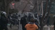 At least 80 people including 56 police officers were injured Tuesday when Kosovo police clashed with thousands of violent protesters demanding the...