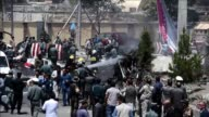 At least five people are killed when a Taliban suicide car bomber strike near the entrance of Kabul's international airport the latest in a wave of...