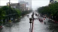 At least four people died and six are missing after a major storm causes flooding in and around Manila forcing schools government offices and...
