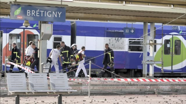 At least seven people were dead and dozens injured on Friday after a speeding train split in two and derailed at a station in the southern suburbs of...