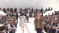 Burberry Prorsum S/S16 Catwalk Show at Perk's Field on June 15 2015 in London England