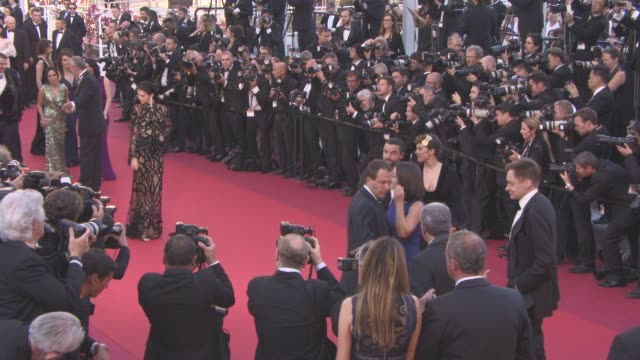 CLEAN at 'Mal de Pierres' Red Carpet at Grand Theatre Lumiere on May 15 2016 in Cannes France