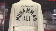 ATMOSPHERE at Muhammad Ali at The O2 Exhibition Preview at The O2 Arena on March 03 2016 in London England