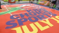 "ATMOSPHERE at NICKELODEON HOSTS BASKETBALL TRYOUTS FOR KIDS' CHOICE SPORTS 2015 ""TRIPLE SHOT CHALLENGE"" in Los Angeles CA"