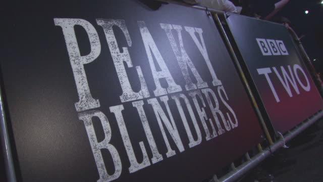 CLEAN at Peaky Blinders Birmingham premiere at cineworld on October 30 2017 in Birmingham England
