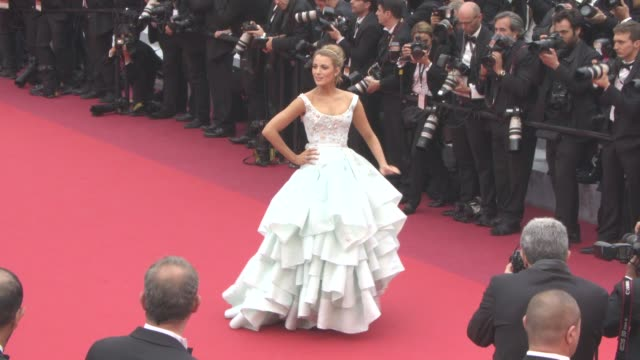 CLEAN at 'Slack Bay' Red Carpet at Grand Theatre Lumiere on May 13 2016 in Cannes France