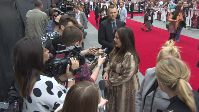 CLEAN at 'Spy' Premiere at Odeon Leicester Square on May 27 2015 in London England