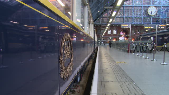 VIEWS TRAIN at St Pancras Station on November 02 2017 in London England