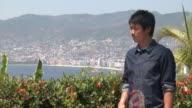CLEAN at Tennis Pro Kei Nishikori Enjoying Some Down Time In Acapulco Mexico on