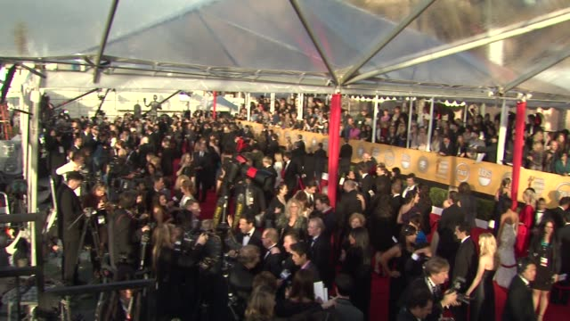 ATMOSPHERE at the 17th Annual Screen Actors Guild Awards Arrivals Part 2 at Los Angeles CA
