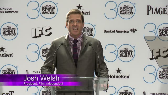 CLEAN at The 30th Film Independent Spirit Awards Nominations Press Conference in Los Angeles CA on