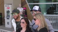 LOCASH at the ACM Awards Radio Row at TMobile Arena on April 01 2017 in Las Vegas Nevada