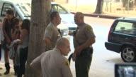ATMOSPHERE at the Chris Brown Sentencing at Los Angeles CA
