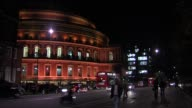 at the George Michael Performs At Royal Albert Hall In London at London England