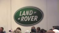 ATMOSPHERE at the Jaguar Land Rover Unveil Of The New XKRS Convertible at Beverly Hills CA