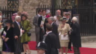 ATMOSPHERE at the Royal Wedding Departures Westminster Abbey A Camera at London England
