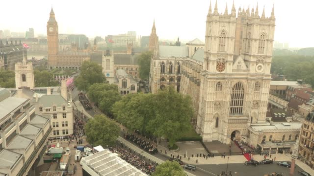 ATMOSPHERE at the Royal Wedding Departures Westminster Abbey C Camera at London England