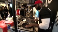 ATMOSPHERE DJ at the Russell Westbrook Launches His True Religion Campaign At True Religion Brooklyn Flagship Store on February 14 2015 in Brooklyn...