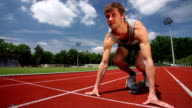 SLOW MOTION: At The Starting Line