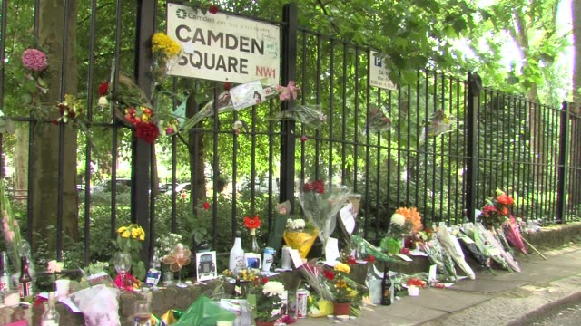 ATMOSPHERE at the Tributes to Amy Winehouse at Camden Town London