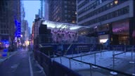 WPIX at Times Square on in New York City