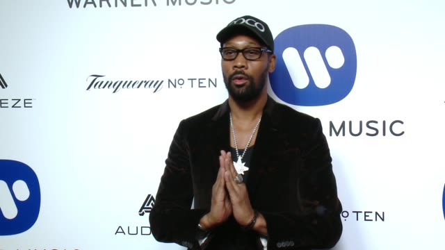 RZA at Warner Music Group Grammy After Party 2016 in Los Angeles CA