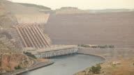 HD: Ataturk Dam on the Euphrates River