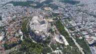 Athens Acropolis aerial view