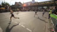 Athletes at Berlin Marathon, major running and sporting event, Berlin