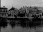 Athlone bridge men and women Irish folk dancing Ross Castle Athlone bridge Irish folk dancing Ross Castle on January 01 1920 in Ireland