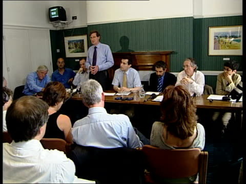 Atkinson opposes Westminster Ian McEwan press conference SOT I alwats thought we'd settle this matter long ago in a postenlightenment culture/ the...
