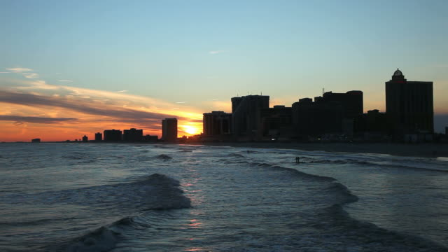 Atlantic City Sunset