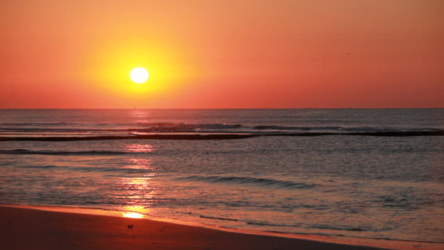 Atlantic Sonnenaufgang über