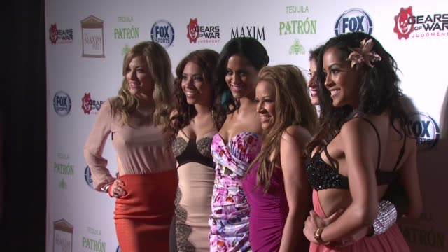Atmosphere at Patron Tequila Presents The Maxim Party With Gears of War Judgment For XBOX 360 FOX Sports Starter on 2/3/13 in New Orleans LA