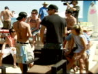 Atmosphere at the Bra Boys BBQ presented by AnheuserBusch at Polaroid Beach House in Malibu California on August 19 2007