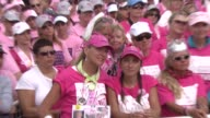 Atmosphere at the Fergie Appearance Avon Walk For Breast Cancer at Santa Barbara CA