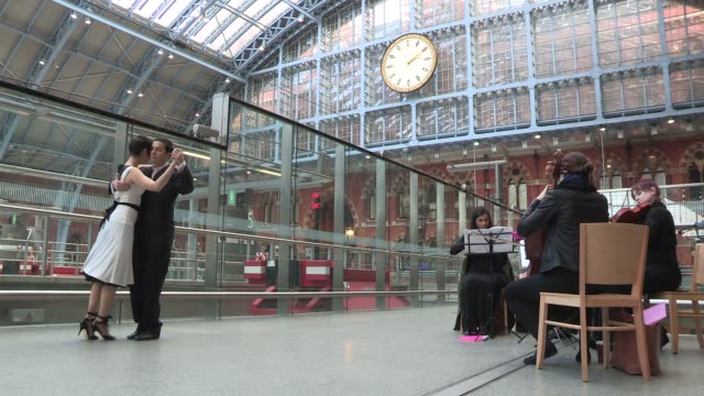 Atmosphere Jack French Pop Up at St Pancras Station on February 14 2013 in London England