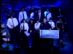 Presentation of American Express check at the American Express Jam Sessions with Kid Rock EPK at House of Blues in Los Angeles California on February...