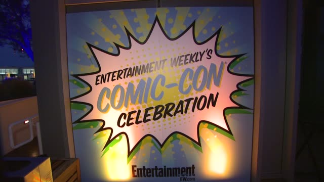 Signage at Entertainment Weekly's 6th Annual ComicCon Celebration Sponsored By Just Dance 4 on 7/14/12 in San Diego CA