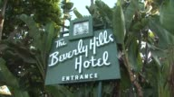 Signage at The 100th Anniversary Celebration Of The Beverly Hills Hotel Bungalows Supporting The Motion Picture Television Fund Atmosphere Signage at...