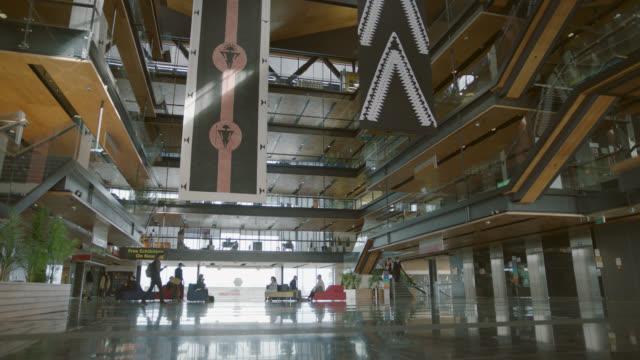 Atrium area in university