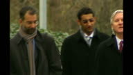 Woolwich Crown Court Adel Yahya along to court
