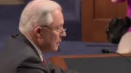 US Attorney General Jeff Sessions appears before the US Senate's Intelligence Committee insists that he did not collude in any way with the Russians...