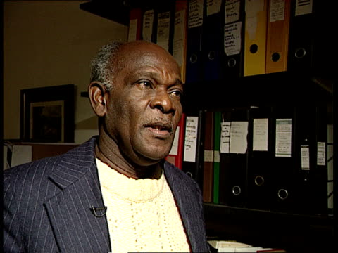 Attorney General on Privy Council in Belize ENGLAND London Simeon Sampson intvw SOT Trying to make Govt appear tough on crime