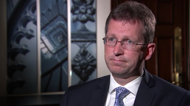 Attorney General talks of increase of cases referred for too lenient sentences ENGLAND London Westminster INT Jeremy Wright MP interview re...