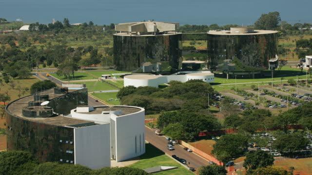 T/L, WS, HA, Attorney-General and Supreme Court buildings, Brasilia, Brazil