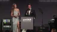 ATMOSPHERE Auction highlights at 19th Annual amfAR New York Gala at Cipriani Wall Street on February 08 2017 in New York City