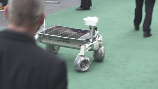 Audi Lunar Quattro rover at 'Alien Covenant' World Premiere at Odeon Leicester Square on May 4 2017 in London England