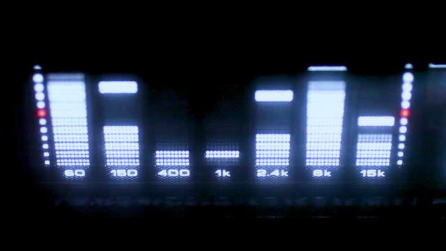 Audio EQ Liquid-Crystal LED